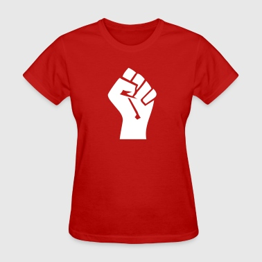Fist In The Air Fist VECTOR - Women's T-Shirt