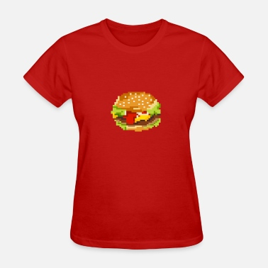 Hamburger 8bit hamburger - Women's T-Shirt
