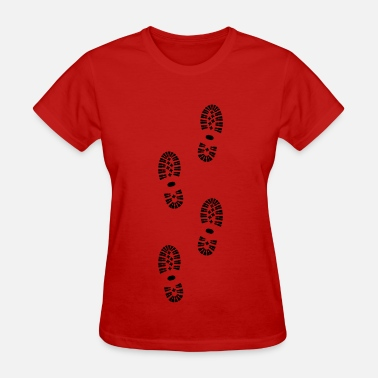 Shoe Shoes, Shoe Print, Hiking - Women's T-Shirt