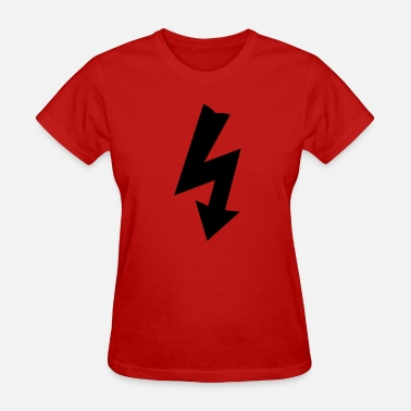 Electrical Symbols Symbol for Electricity - Women's T-Shirt