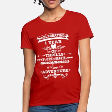 4d5a1498 Wedding Anniversary 1st Anniversary Vintage - Women's T-Shirt