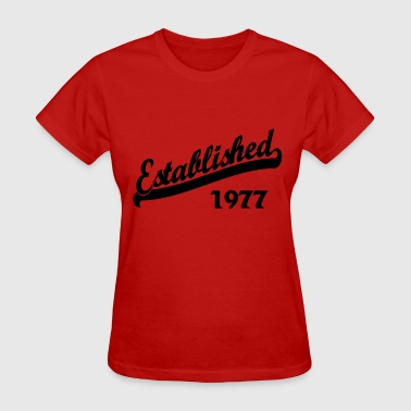 Established 1977 - Women's T-Shirt