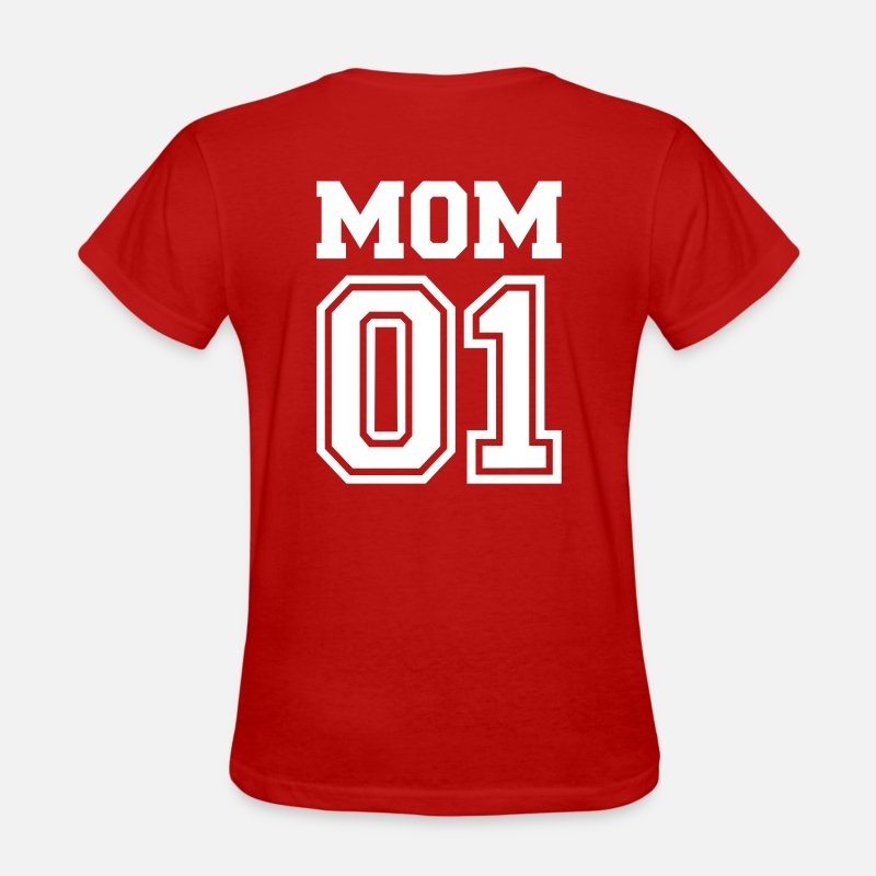 Family T-Shirts - Mom 01 - Women's T-Shirt red