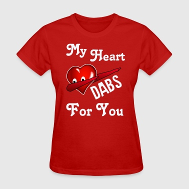 Heart  Dabbing - Women's T-Shirt