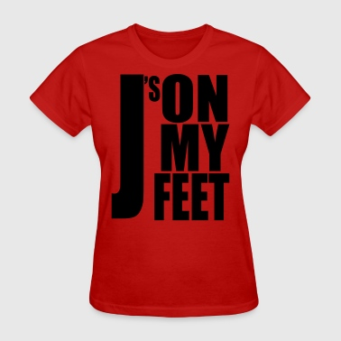 J's ON MY FEET 2 - Women's T-Shirt