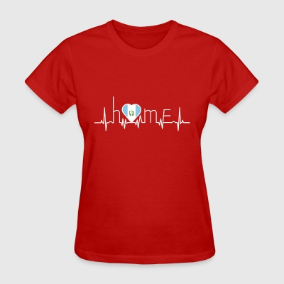 i love home heimat Guatemala - Women's T-Shirt