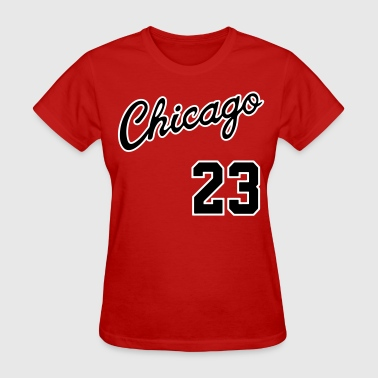 Chicago 23 Script Shirt - Women's T-Shirt
