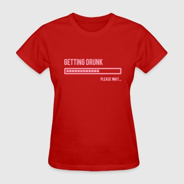 Getting drunk level indicator - Women's T-Shirt