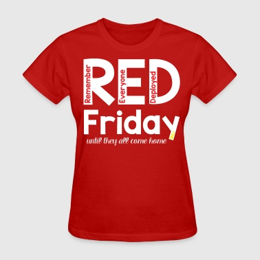 RED Friday Coffee Mug - Women's T-Shirt