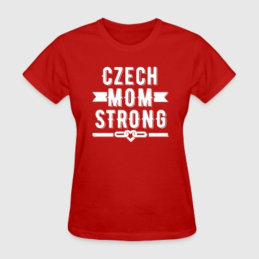 Czech Mom Strong T-shirt - Women's T-Shirt