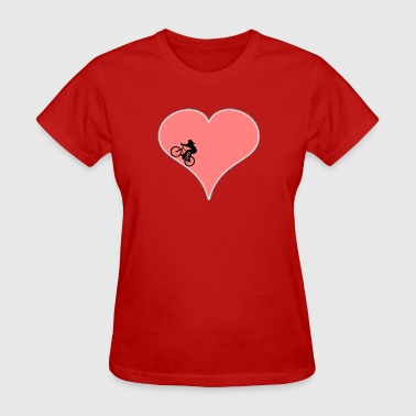 Bicycle Love Women's Cycling - Women's T-Shirt
