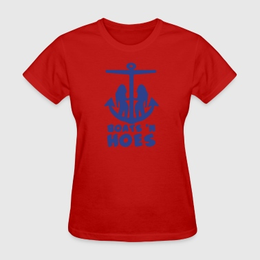 boats and hoes shirt - Women's T-Shirt