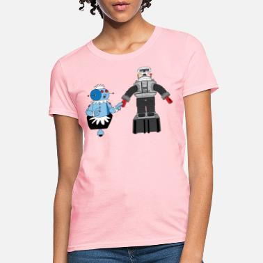 Robot Rosie and Lost in Space Robot - Women's T-Shirt