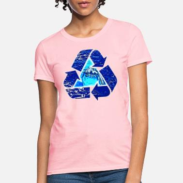 Dolphin Recycle - Women's T-Shirt