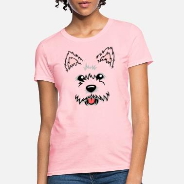 Westie Dog Cute Adorable Westie Dog Face for Westie Owners - Women's T-Shirt