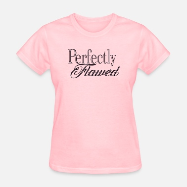 Vitiligo Girls perfectly flawed black - Women's T-Shirt