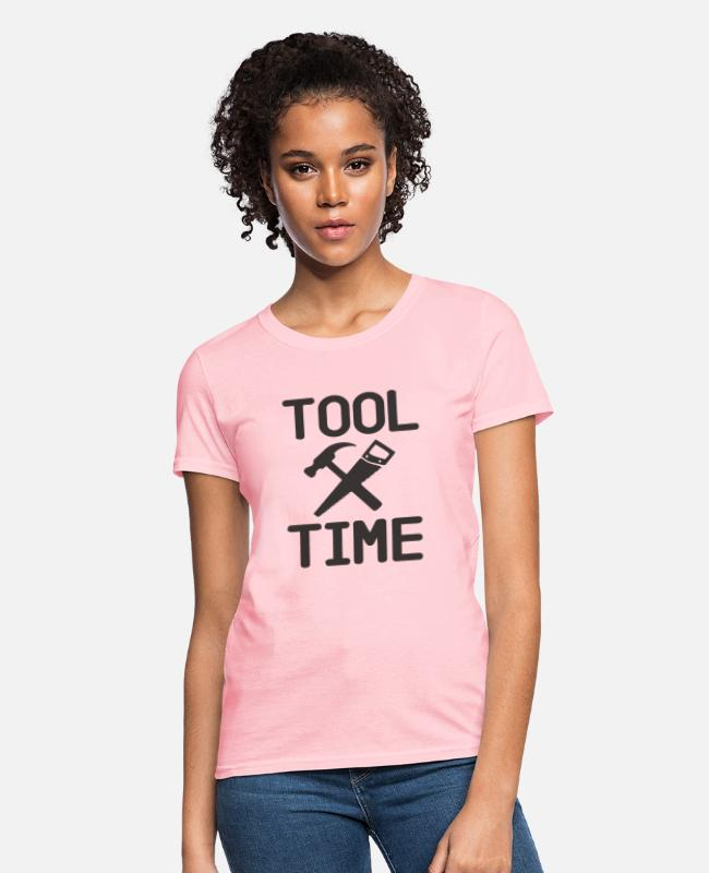 Nostalgic T-Shirts - Tool Time - Binford - Women's T-Shirt pink