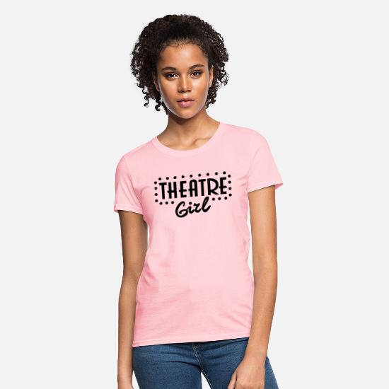 Theatre T-Shirts - Theatre Girl - Women's T-Shirt pink