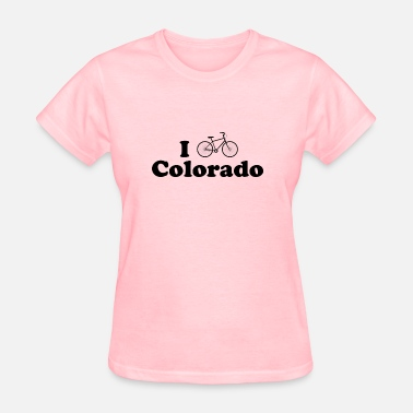 Bicycle Colorado colorado biking - Women's T-Shirt