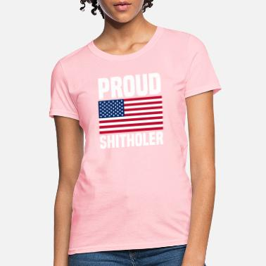 Countries Proud Shitholer from Shithole Countries - Women's T-Shirt