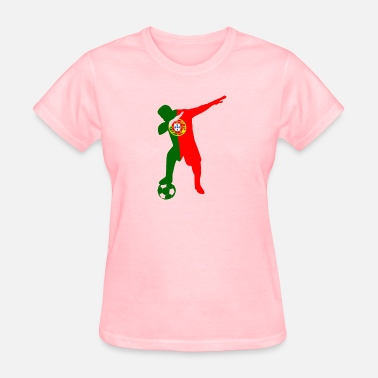 Soccer Player Dabbing Portuguese soccer player dabbing - Women's T-Shirt
