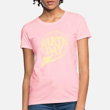 Earth Day earthday hand - Women's T-Shirt