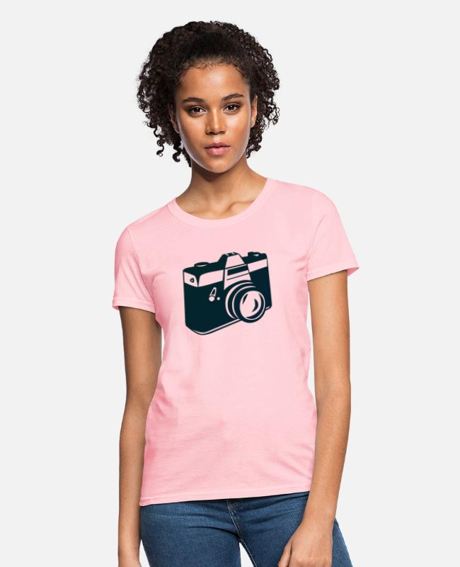 Clic T-Shirts - Photo1 - Women's T-Shirt pink