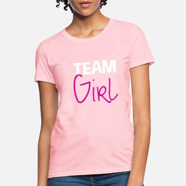Babyparty Team Girl Pregnancy perfect gift idea - Women's T-Shirt