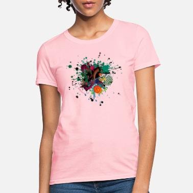 Art Design Carnival abstract art design - Women's T-Shirt