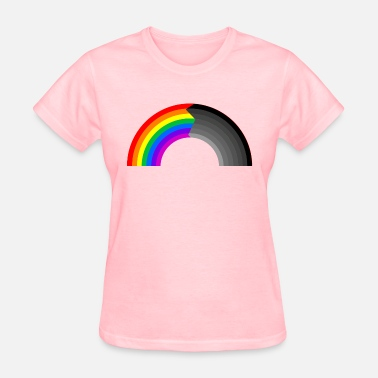 Faded Flag rainbow fade - Women's T-Shirt