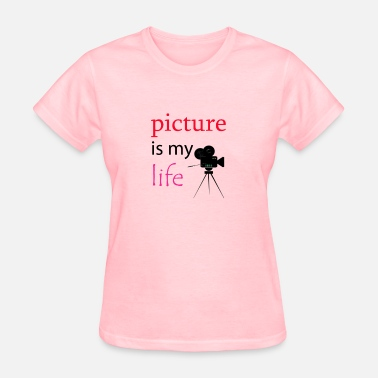 80s Symbols & Shapes picture is my life - Women's T-Shirt