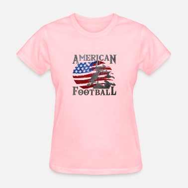 American Football Apparel American Football (American Flag) - Football - Women's T-Shirt