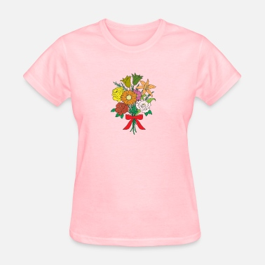 Bouquet Of Flowers Bouquet of Flowers - Women's T-Shirt