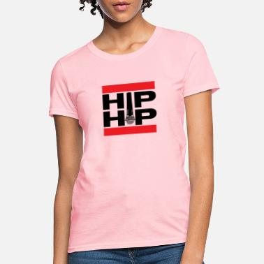 Rapper Hip Hop Microphone - Women's T-Shirt