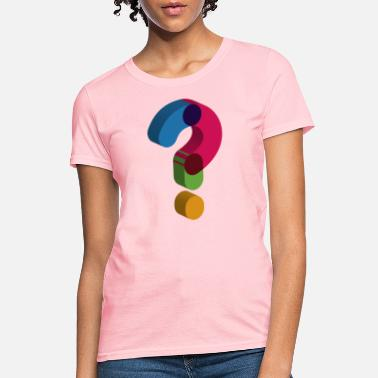 Question question mark sign - Women's T-Shirt