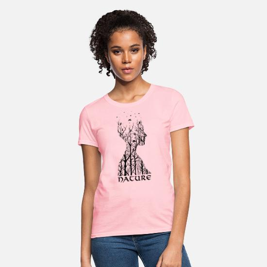 Nature T-Shirts - Nature Spirit - Women's T-Shirt pink