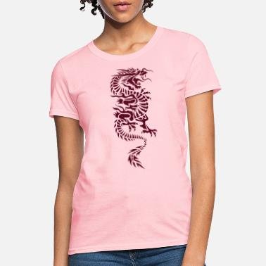 Chinese Dragon Chinese Dragon Tattoo 4 - Women's T-Shirt