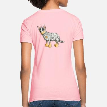 Acd Funny Australian Cattle Dog - Dogs - Women's T-Shirt