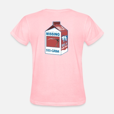 Carton Milk carton Missing 17 - Women's T-Shirt