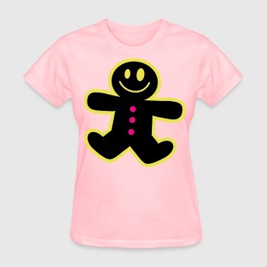 ginger bread man cute ! - Women's T-Shirt