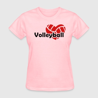 Love  Volleyball - Women's T-Shirt