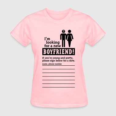 Looking For A Boyfriend (F) - Women's T-Shirt