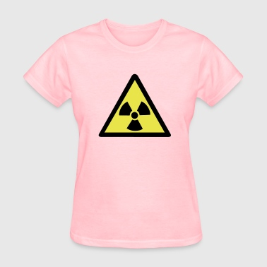Radioactive Warning Symbol - Women's T-Shirt