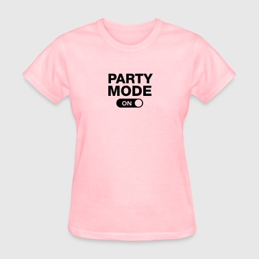 Party Mode (On) - Women's T-Shirt