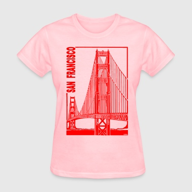 San Francisco-Golden Gate - Women's T-Shirt