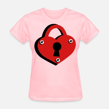 Lock Of Love love lock - Women's T-Shirt