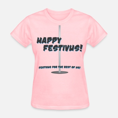 Seinfeld happy_festivus - Women's T-Shirt