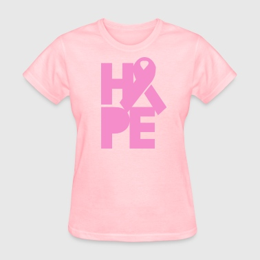 Pink Hope for Breast Cancer - Women's T-Shirt