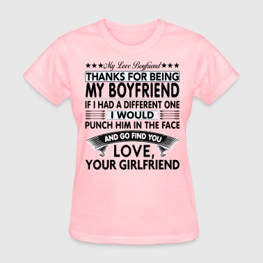 Dear Boyfriend... - Women's T-Shirt
