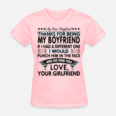 Dear Boyfriend Womens T Shirt